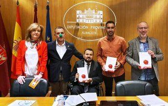 La Diputación de Albacete acogió la presentación del primero de la serie de libros 'Historias de Superhéroes', inspirado en Antonio Cepillo Boluda