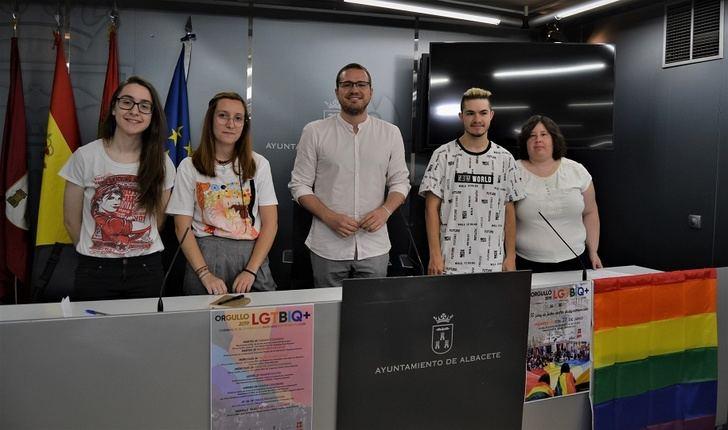 El Ayuntamiento de Albacete se une a los actos que se celebran con motivo del 'Orgullo 2019'