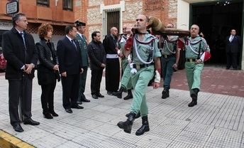 El alcalde destaca la belleza y solemnidad de los desfiles procesionales de la Semana Santa de Albacete
