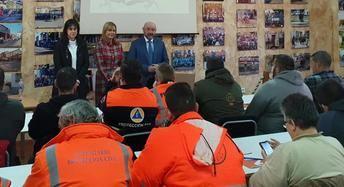 115 voluntarios de distintas agrupaciones de las provincias de Toledo, Ciudad Real y Cuenca se forman en el curso básico de Protección Civil