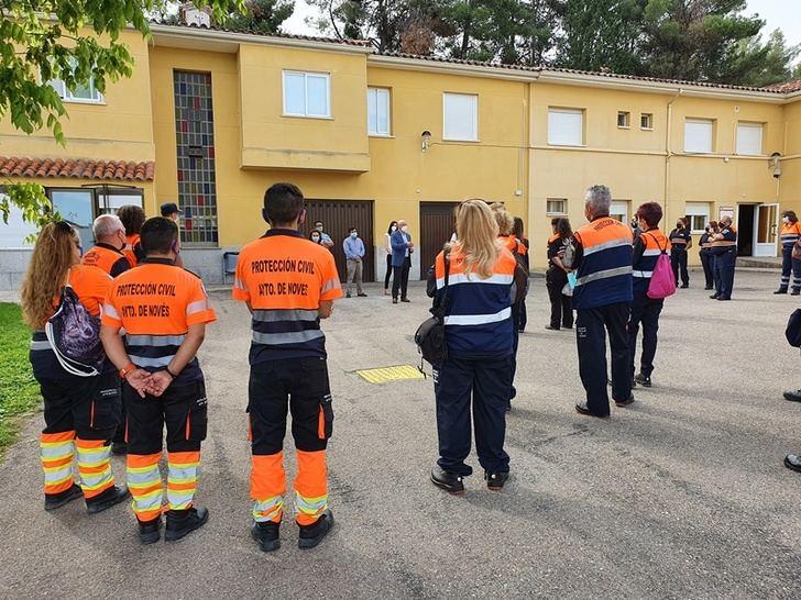 80 integrantes de agrupaciones de Protección Civil participan en cursos formativos para perfeccionar sus funciones