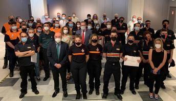 5.200 intervenciones realizadas en 2020 por Protección Civil tras su activación por el 112