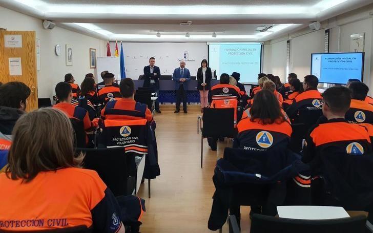La Junta formará en 2020 a más de 3.600 efectivos de Protección Civil en Castilla-La Mancha