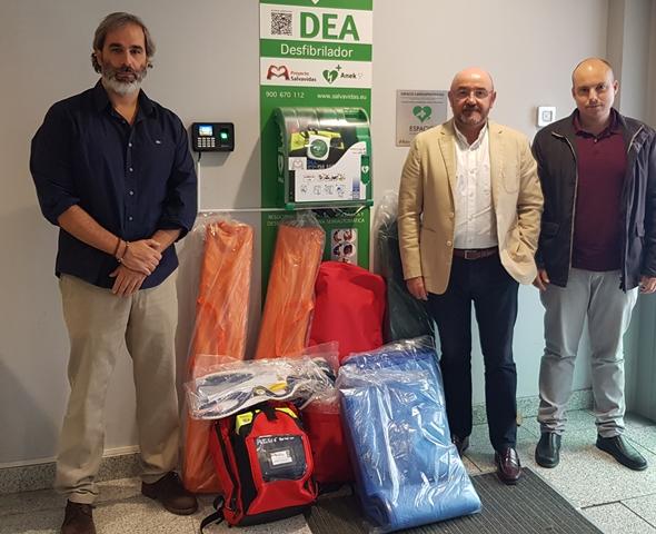 25 agrupaciones de Protección Civil reciben material de emergencias de las subvenciones del Gobierno regional