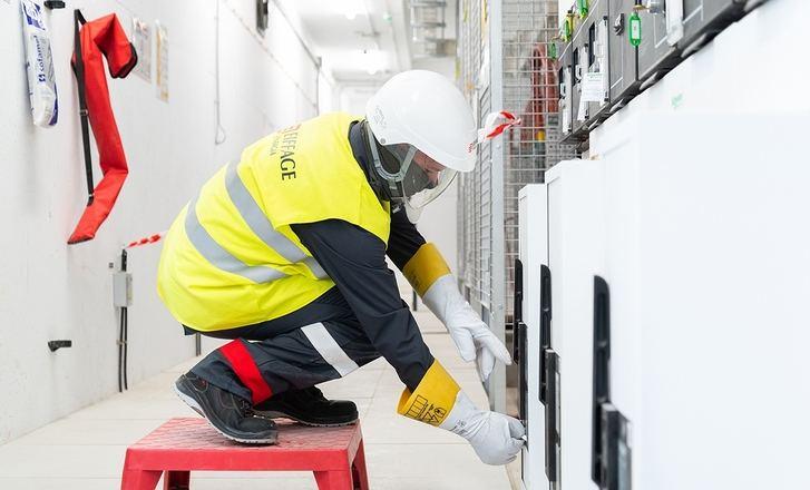 Eiffage Energía baja en los últimos ocho años un 90% el número de accidentes con baja