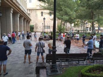 Policías locales de Albacete protestan por la 'imposición' de servicios extraordinarios de fin de semana