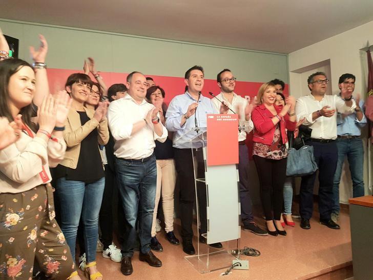 El PSOE de la provincia de Albacete, primera fuerza política en las elecciones europeas, autonómicas y municipales