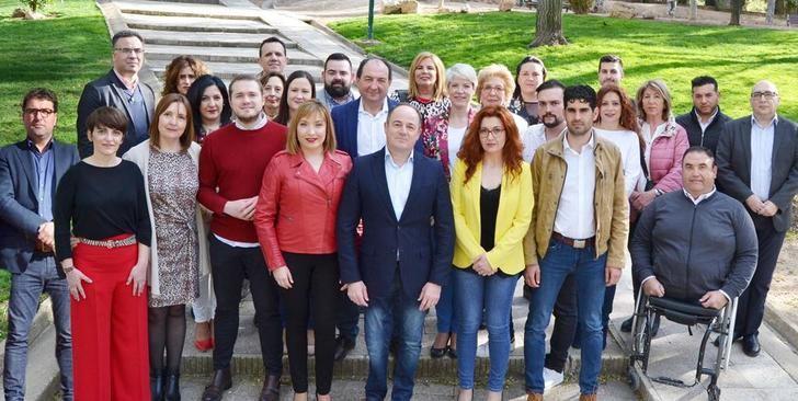 """Emilio Sáez (PSOE) presenta una candidatura para """"promover el cambio que necesita Albacete"""""""