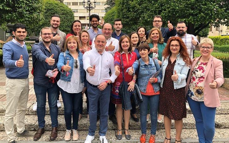 """Emilio Sáez (PSOE) espera una """"apoyo mayoritario"""" con el que """"activa Albacete"""""""