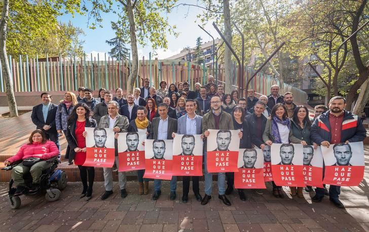 El PSOE de Albacete comienza la campaña electoral apelando al voto progresista