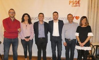 Cabañero (PSOE) presentó la candidatura de Antonio Sánchez a la alcaldía de Caudete (Albacete)