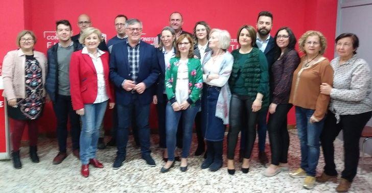 Ramón García da a conocer toda la lista del PSOE de Hellín a las próximas elecciones municipales