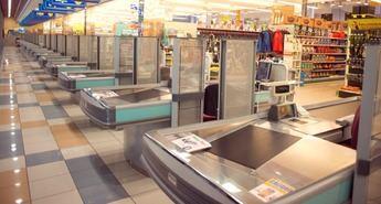 Dos trabajadores resultan heridos durante las labores de limpieza del centro comercial Puerta de Toledo