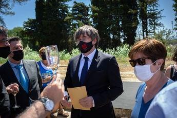 Puigdemont, detenido en Cerdeña por la orden de busca y captura del Tribunal Supremo