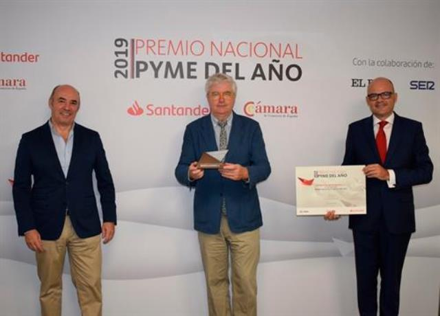 Más de 1.570 empresas optan al 'Premio Pyme del Año 2020' de Banco Santander y Cámara de España