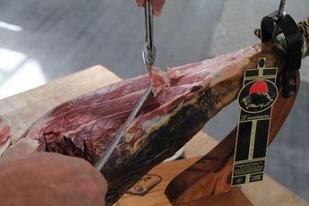 Que cuchillos utilizar para cortar jamón