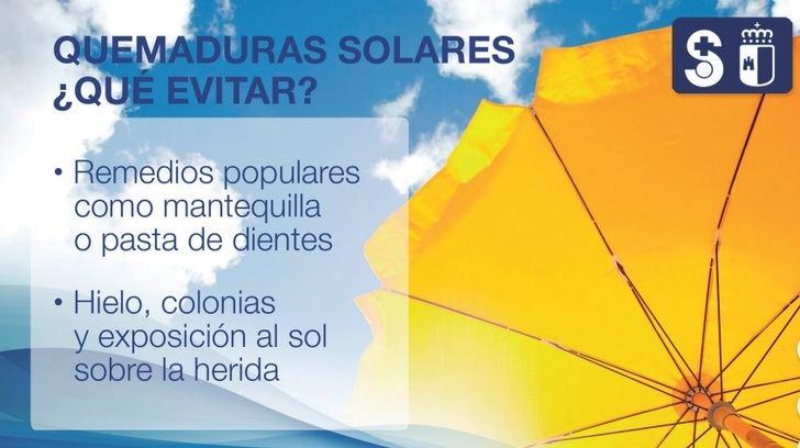 Beber agua y evitar el sol, recomendaciones de la Junta de Castilla-La Mancha ante la ola de calor