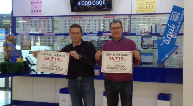 La administración de lotería de Imaginalia da un premio de 14 aciertos de la Quiniela