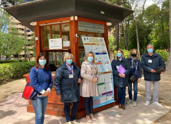 Los quioscos de los parques de Albacete se convierten en puntos de información medioambiental