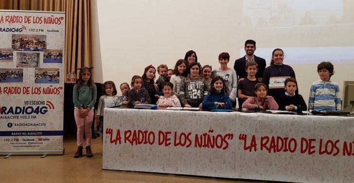Comienza una nueva temporada de 'La Radio de Los Niños', que emite Radio 4G de Albacete