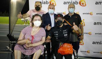 Rafael Botello batió en Albacete el récord de la hora de atletismo en silla de ruedas