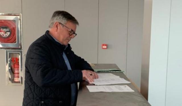 El Ayuntamiento de Hellín firma el acta de recepción del Centro de Salud número 1