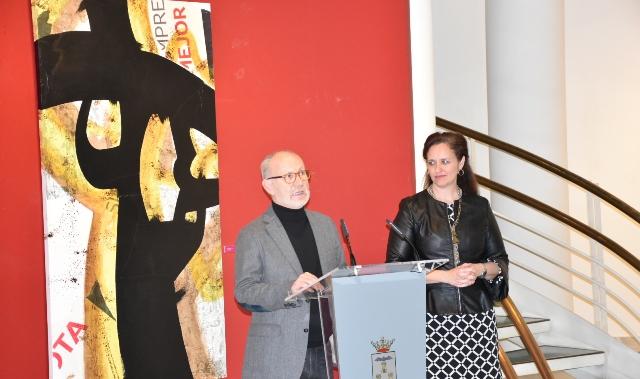 El pintor Ramón Torres exhibe sus indagaciones sobre la abstracción en el Museo Municipal de Albacete