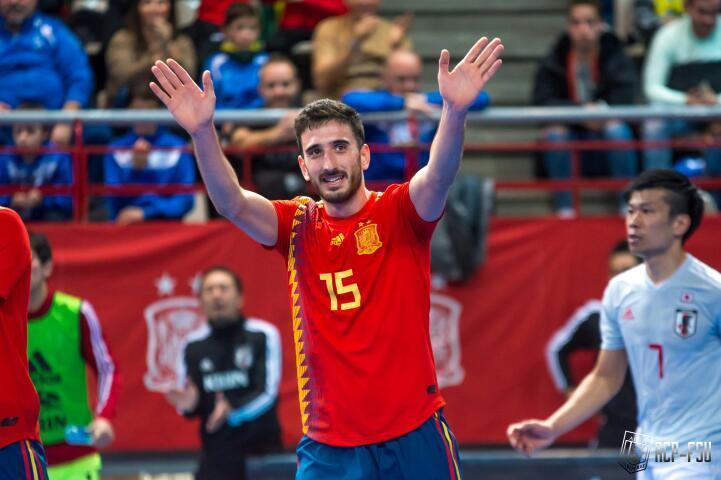 El albaceteño Rául Gómez vuelve a la selección absoluta de fútbol sala