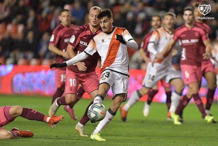La segunda parte del Rayo Vallecano-Albacete se jugará a puerta cerrada