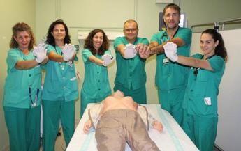 Los hospitales de Toledo y Guadalajara celebrarán el Día Internacional de la reanimación cardiopulmonar con talleres de formación