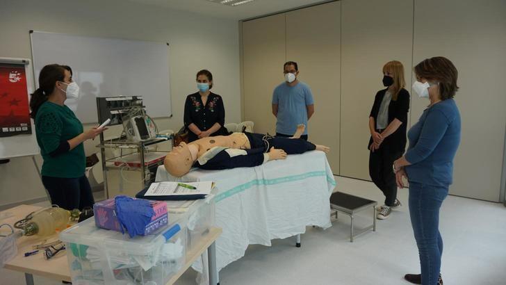El Hospital de Toledo acoge los cursos de reanimación cardiopulmonar avanzados para personal sanitario
