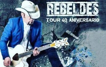 Los Rebeldes, en su gira de 40 aniversario, llegan esta semana a Chinchilla (Albacete)