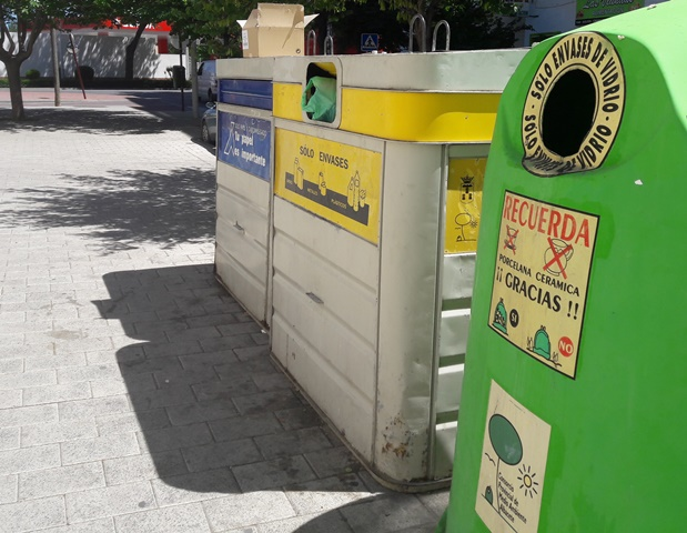Notable aumento de la recogida selectiva de residuos del servicio de la Diputación de Albacete
