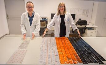 Un proyecto del Hospital de Parapléjicos de Toledo, basado en el reetiquetado, disminuye los residuos contaminantes