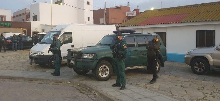 Registros en Albacete dentro de la operación contra narcotráfico en Almería, Málaga y Campo de Gibraltar
