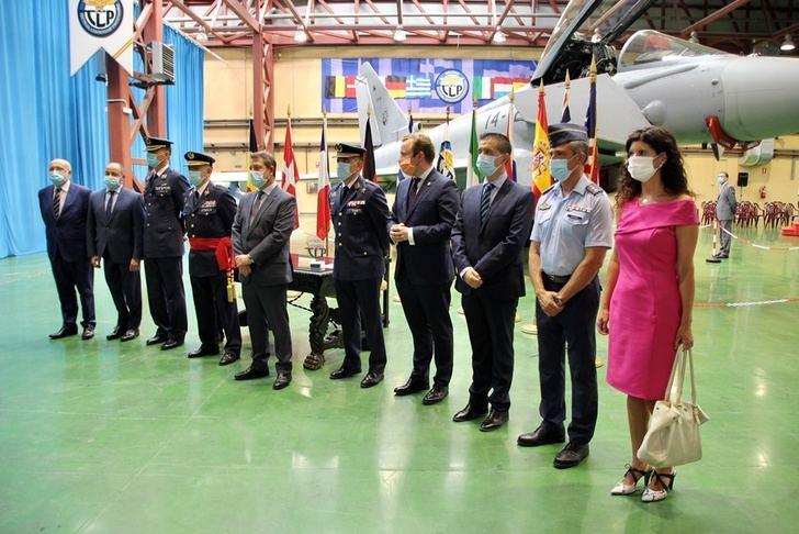 Relevo en el mando del programa de liderazgo táctico de la Base Aérea de Los Llanos (Albacete)