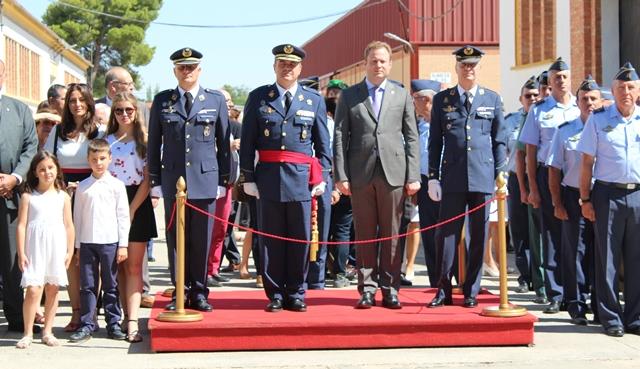 El coronel Gómez Blanco asume el mando de la Maestranza Aérea de Albacete