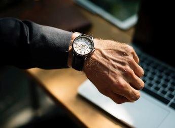 Los relojes de pulsera están de moda