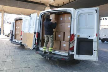 700.000 artículos de protección han recibido esta semana los sanitarios de Castilla-La Mancha
