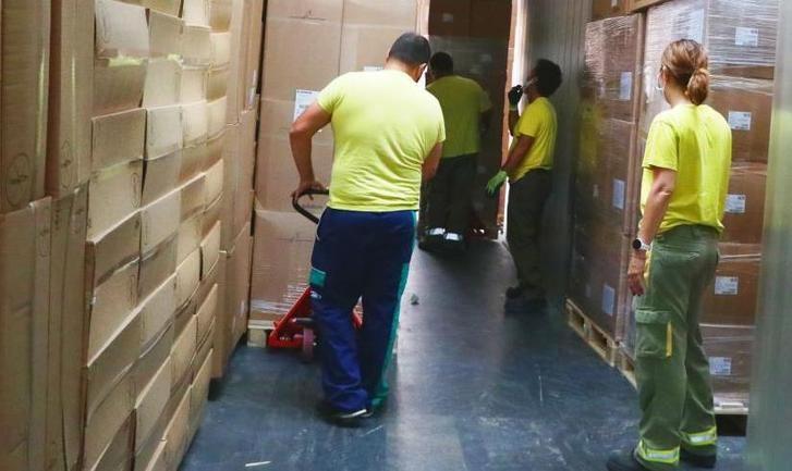 Castilla-La Mancha repartió esta semana cerca de 540.000 artículos de protección para los sanitarios