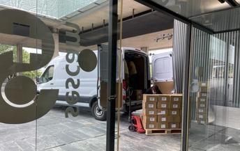 Castilla-La Mancha distribuyó esta semana otros 93.000 artículos de protección en los centros sanitarios