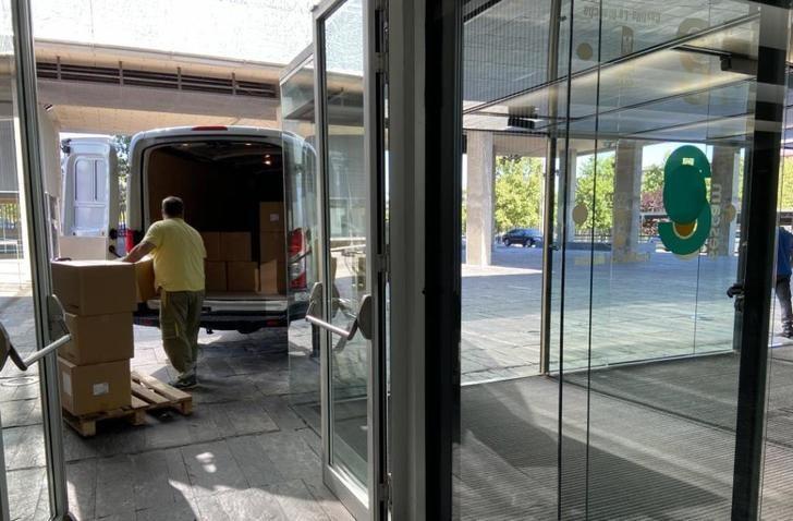 Castilla-La Mancha ha distribuido más de 52 millones de artículos de protección en los centros sanitarios