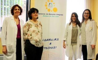 El Hospital Mancha Centro de Alcázar fomenta encuentros entre especialistas y futuras madres con esclerosis múltiple