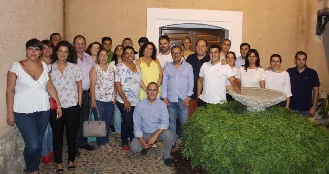 Reunión del Grupo Popular en la Diputación, Antonio Martínez, con alcaldes y portavoces de la Sierra del Segura y Campos de Hellín