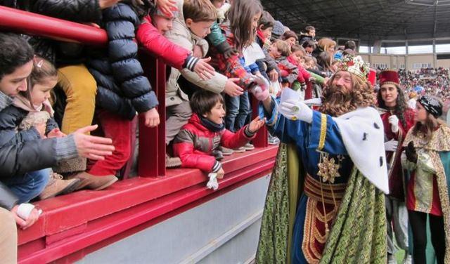 Imagen de la llegada de los Reyes a Albacete, en años anteriores.