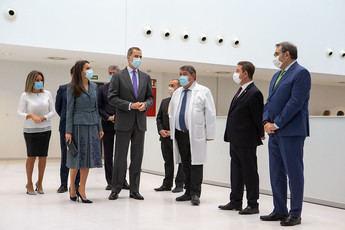 Los Reyes de España inauguraron el nuevo Hospital de Toledo, que estará operativo el día 30 de noviembre