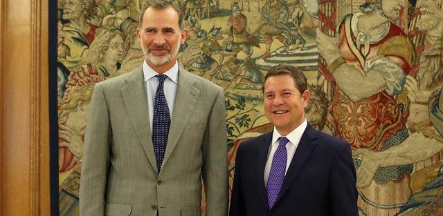 Page le explica al rey en Zarzuela los nuevos retos de Castilla-La Mancha