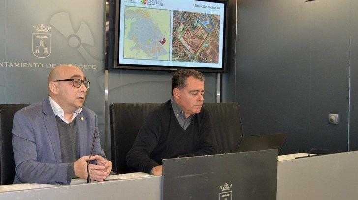 El jueves comenzarán las obras de urbanización del Sector 10 de Albacete, en el que se construirán 580 viviendas
