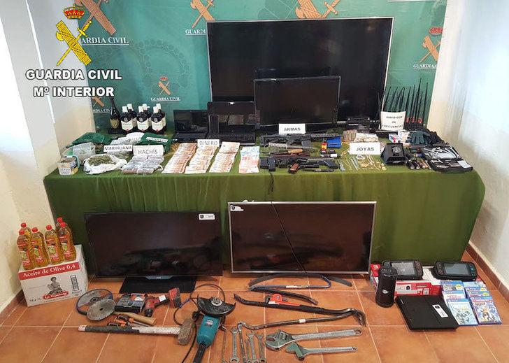 13 miembros de una banda detenidos que robaba en establecimientos hoteleros Toledo, Ciudad Real, Cuenca y Guadalajara
