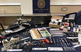 La Policía Nacional detiene a una organización que robaba coches en Madrid y los trasladaba a Guadalajara